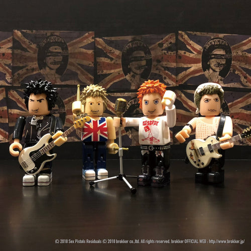 brokker / Sex Pistols - Block Figure Toys for Musician