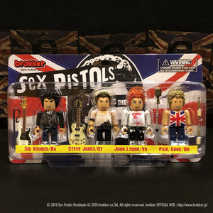 brokker / Sex Pistols - Block Figure Toys for Musician  [BW-001]