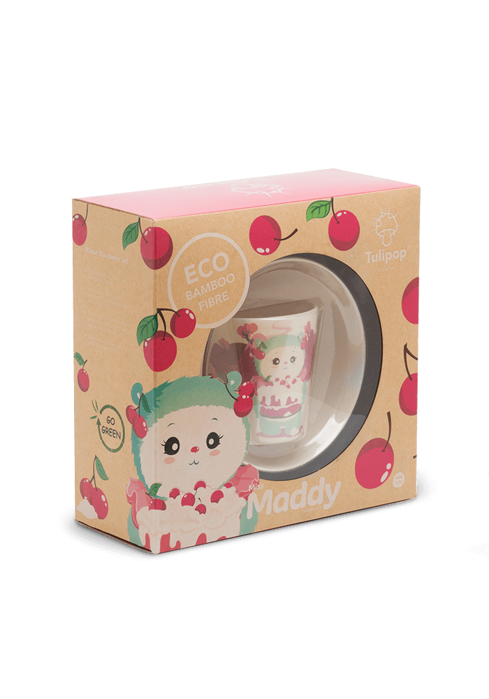 Miss Maddy Bamboo Dinner Set box