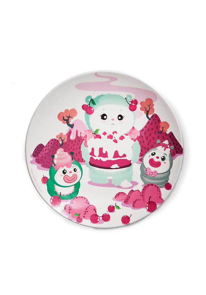 Miss Maddy Bamboo plate