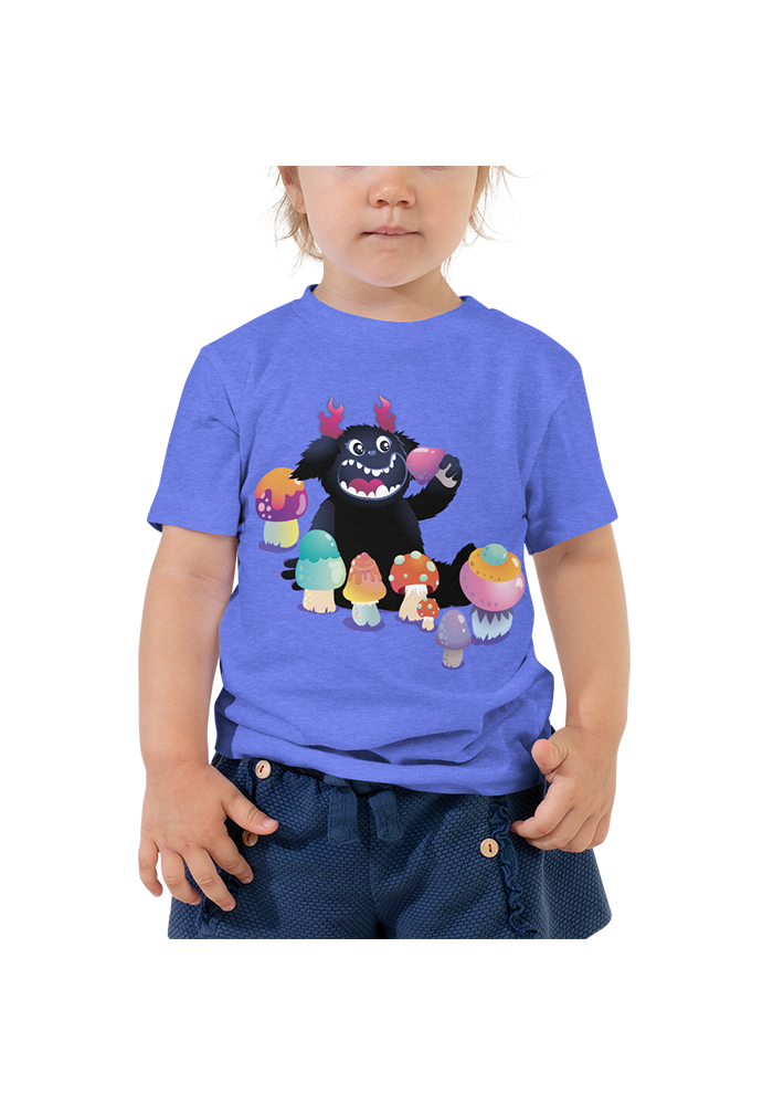Fred & Shrooms Toddler Short Sleeve Tee