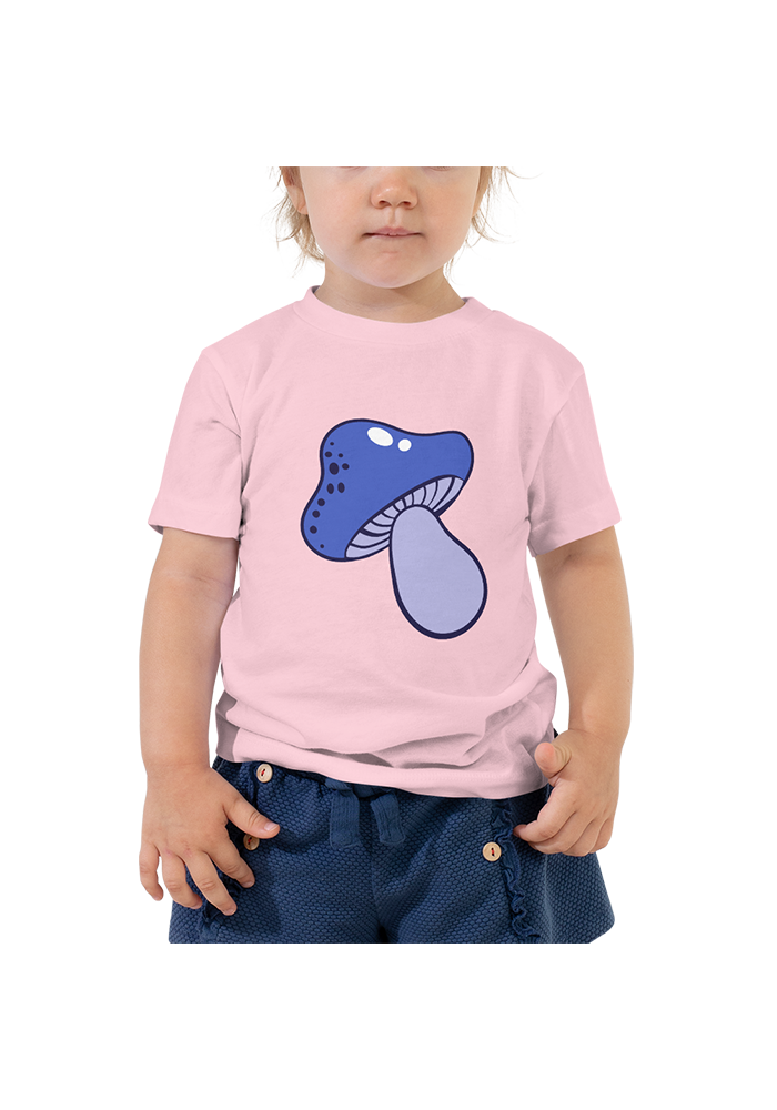 Mushroom Toddler Short Sleeve Tee