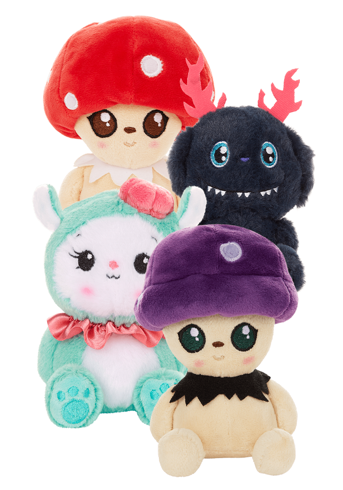 Mini Plush Set