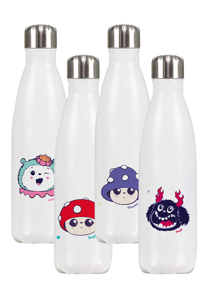 Steel Water Bottle Set