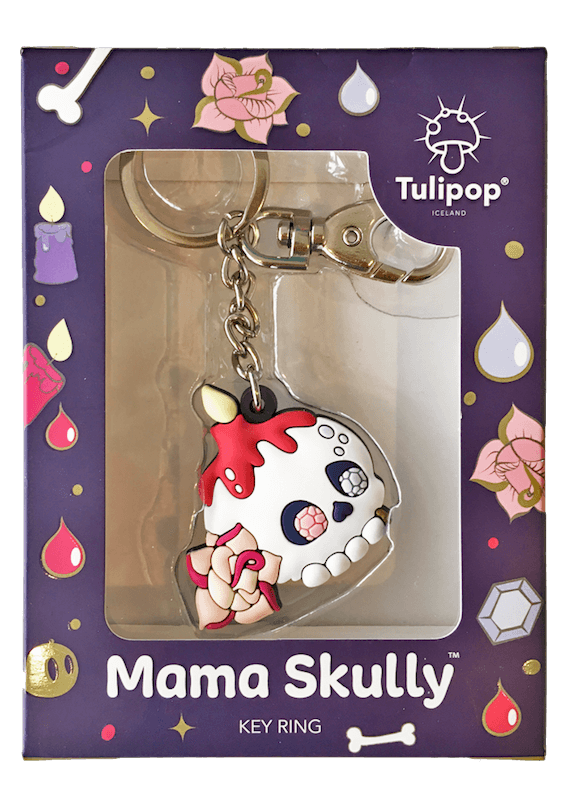 Mama Skully Key Ring