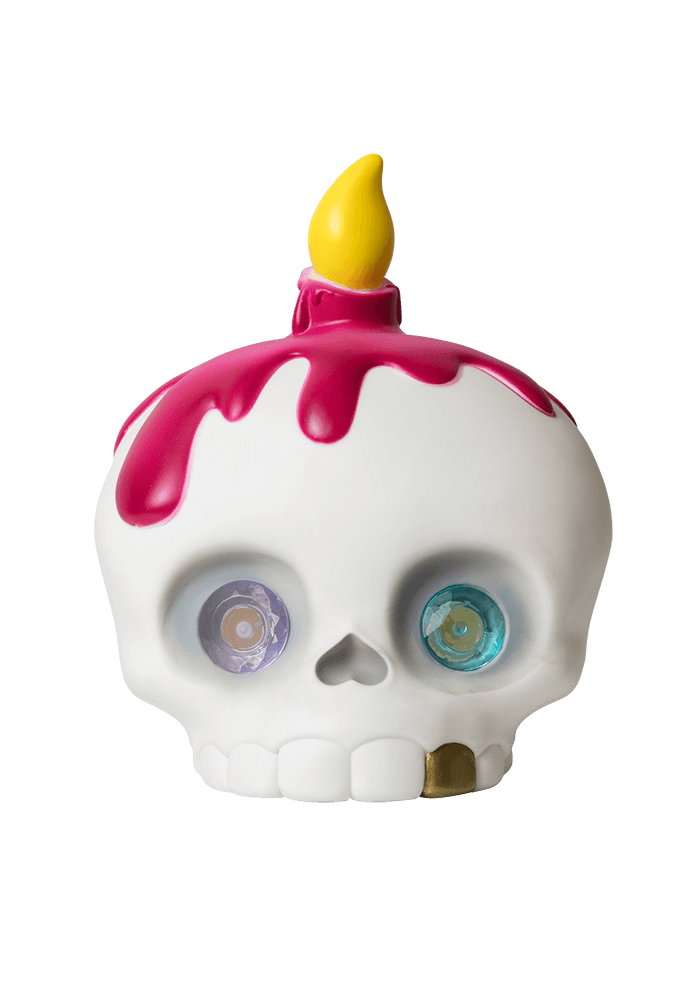 Mama Skully Led Lamp front