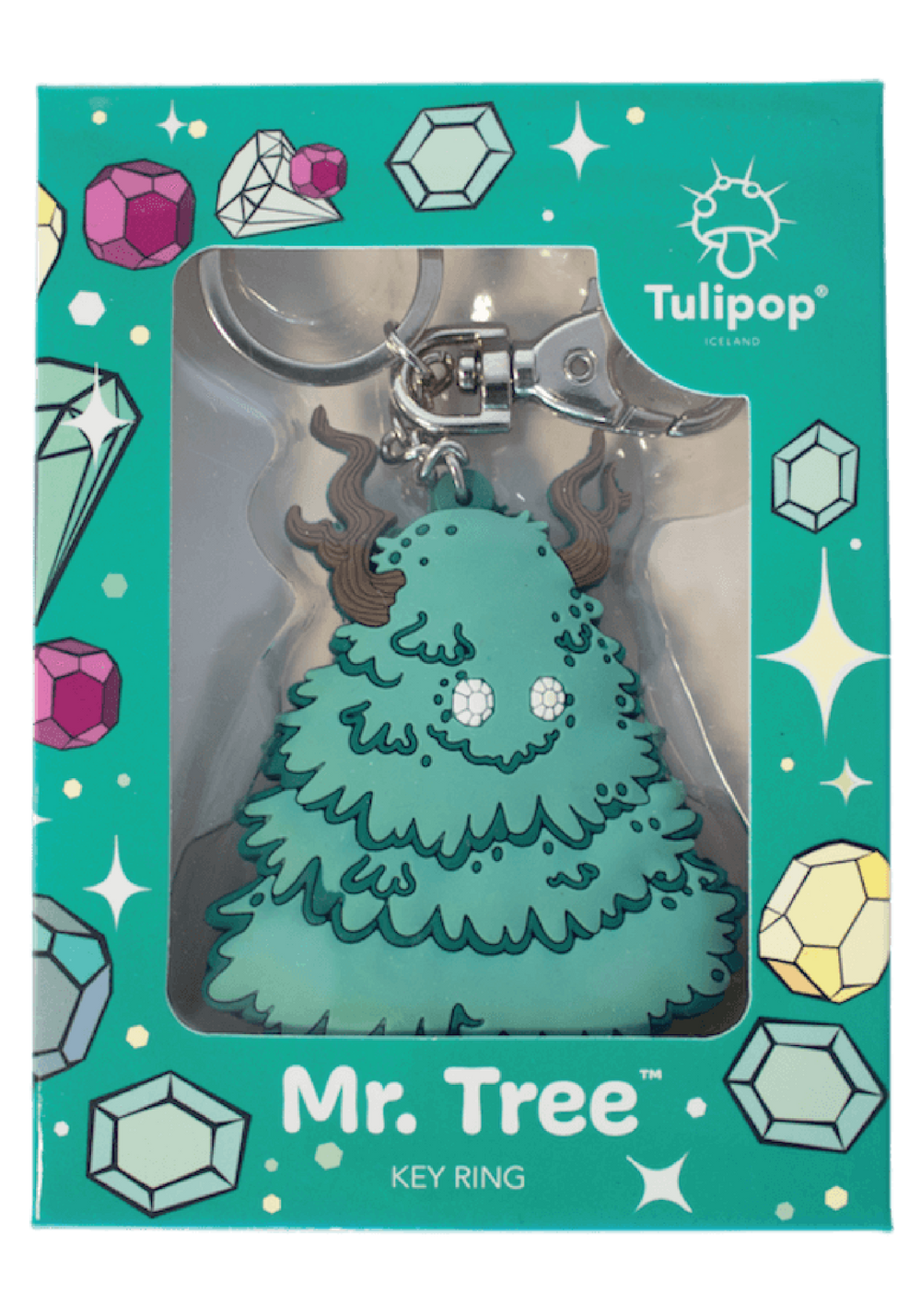 Mr. Tree Key Ring
