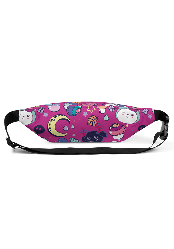 Berry Pink Pattern Fanny Pack