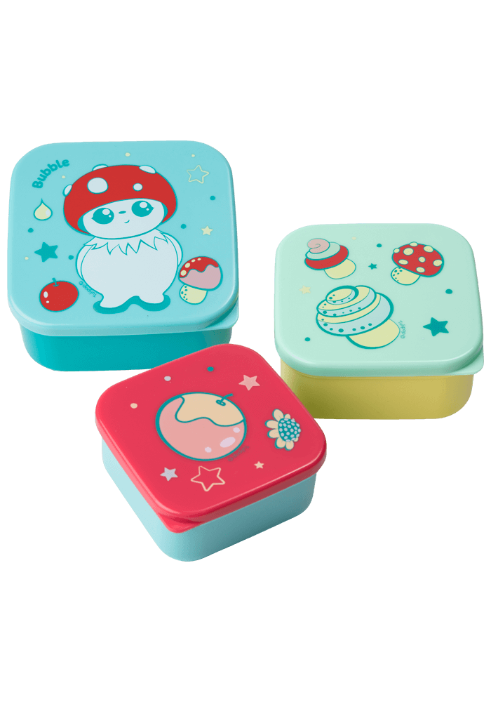 Bubble Lunch Box Set side