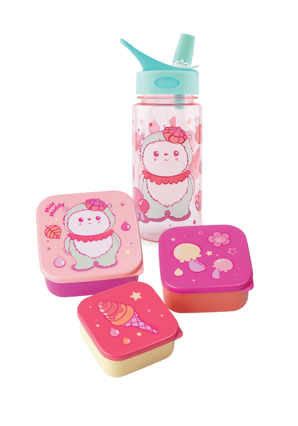 Miss Maddy Water Bottle and Lunch Box Set