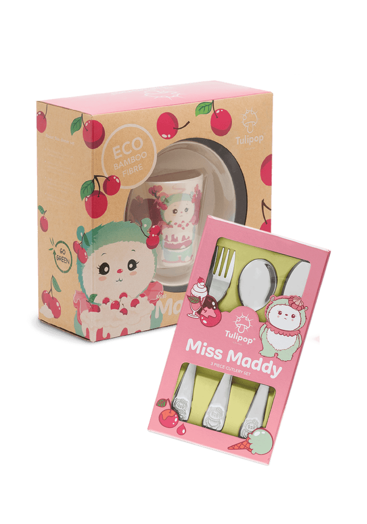 Miss Maddy Dinner Set and Cutlery Set
