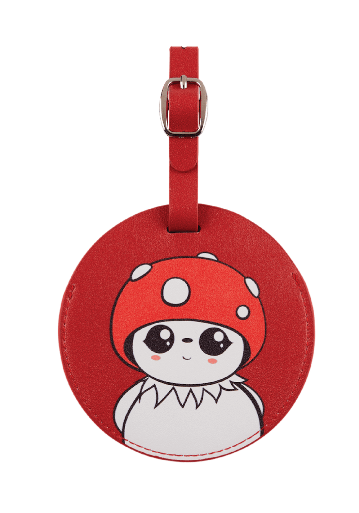 Bubble Luggage Tag