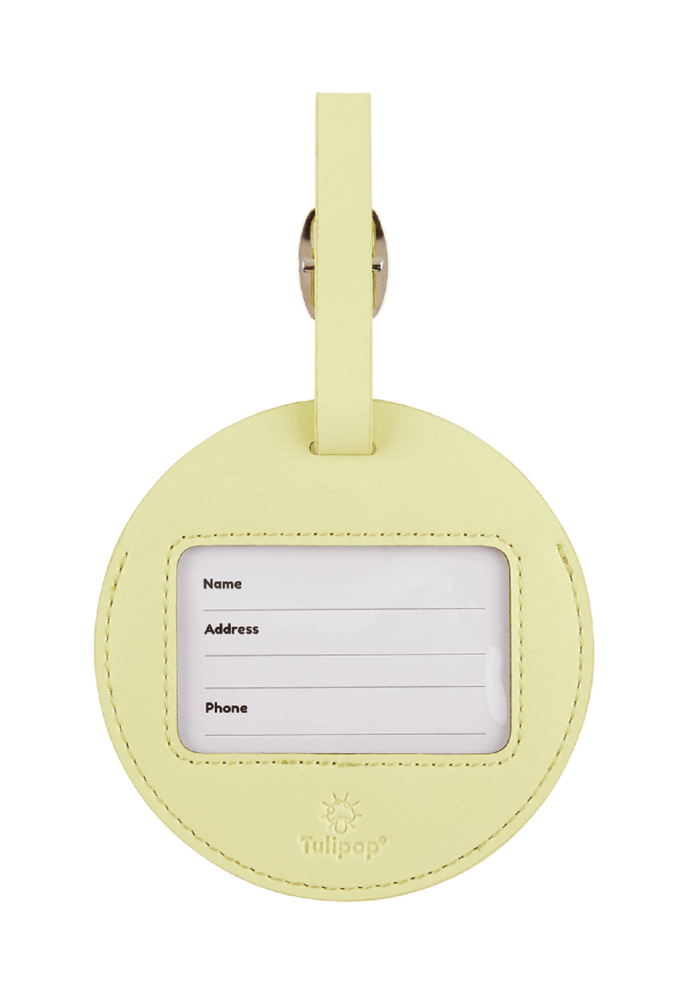 Gloomy Luggage Tag