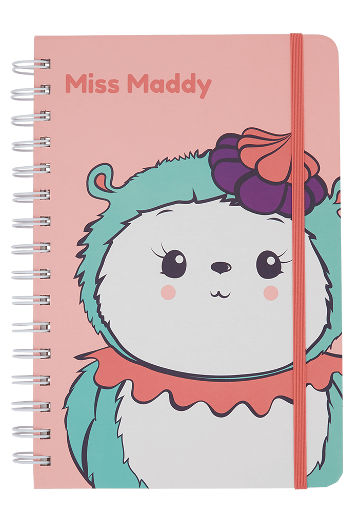 Miss Maddy Notebook front