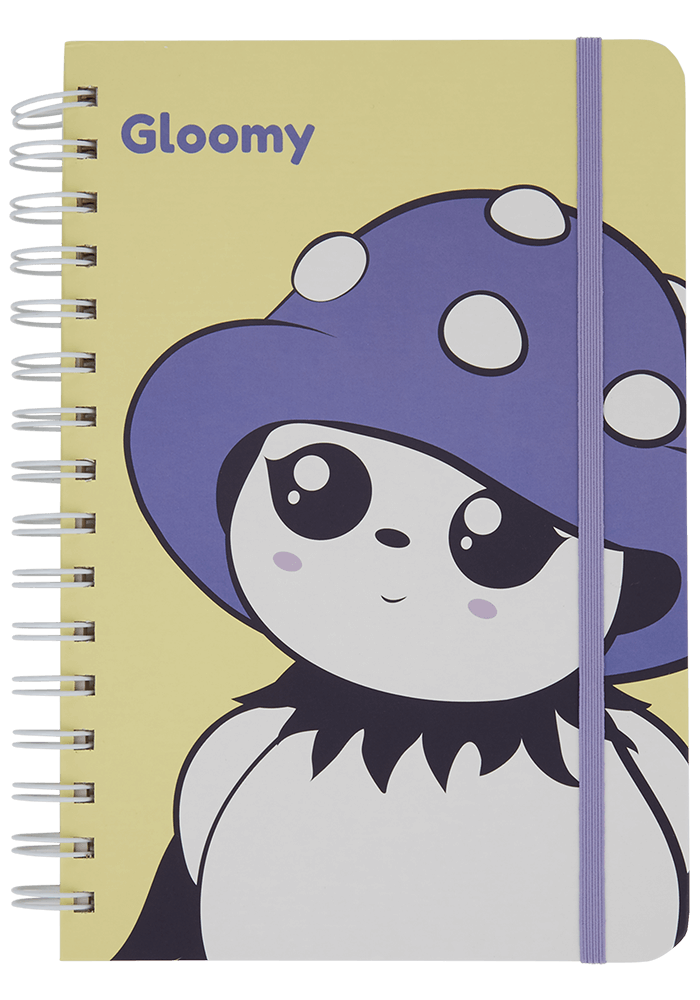 Gloomy Notebook front