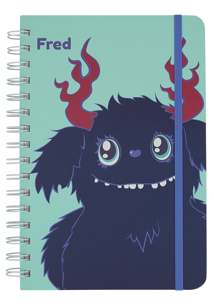 Fred Notebook front