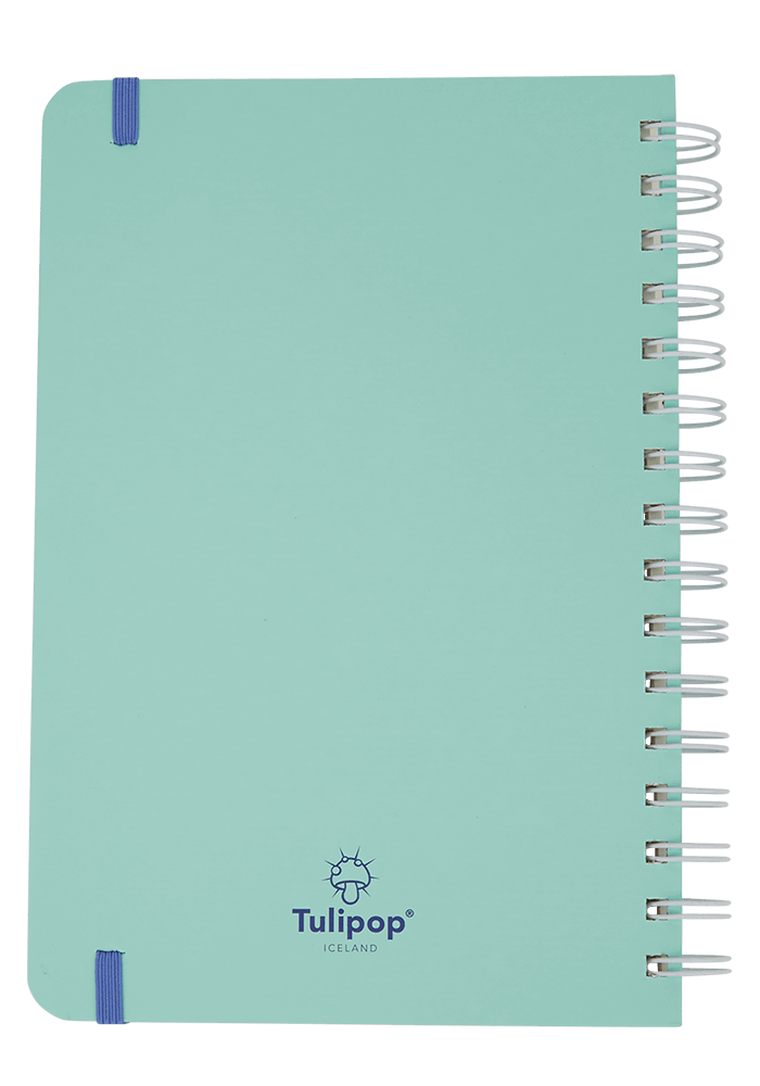 Fred Notebook back