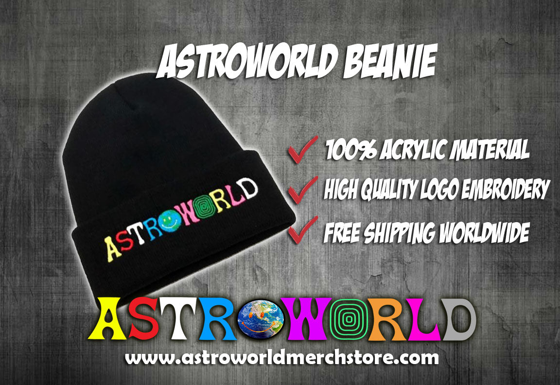 Astroworld Beanie - AstroWorlds Merch【Limited Collection 】