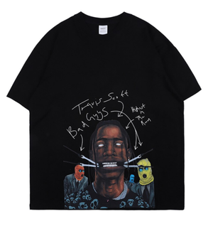 NAGRI Travis Scott Streetwear Tee - AstroWorlds Merch【Limited Collection 】