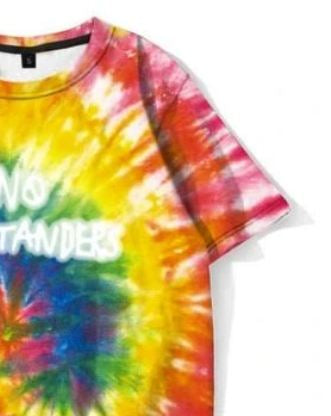 No Bystanders Tie Dye T Shirt - AstroWorlds Merch【Limited Collection 】
