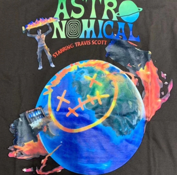 2020ss Astronomical Travis Scott Shirt - AstroWorlds Merch【Limited Collection 】