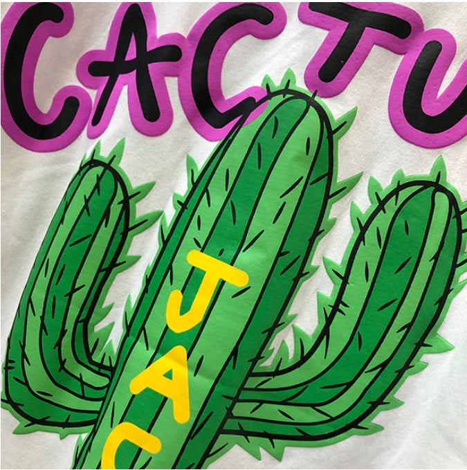 Cactus Jack Airbrushed T Shirt - AstroWorlds Merch【Limited Collection 】