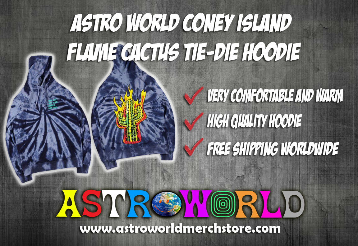 Coney Island Hoodie (High Quality) - AstroWorlds Merch【Limited Collection 】