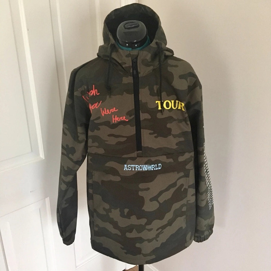 Astroworld Camouflage Jacket
