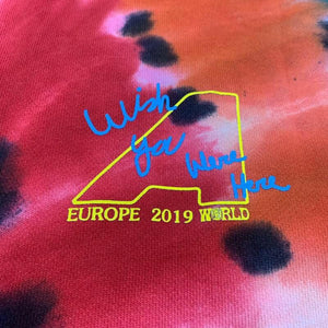 Europe Tour Tie Dye Hoodie - AstroWorlds Merch【Limited Collection 】