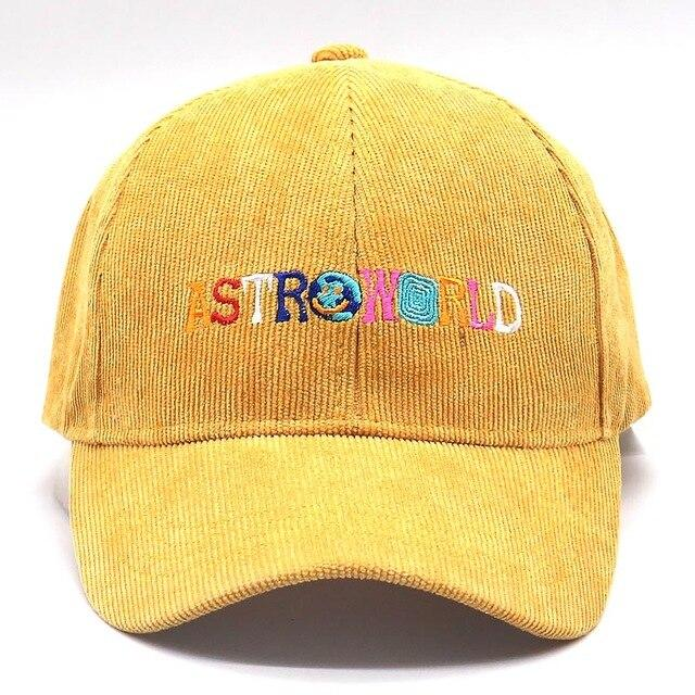 ASTROWORLD Corduroy Hat (Best Selling) - AstroWorlds Merch【Limited Collection 】