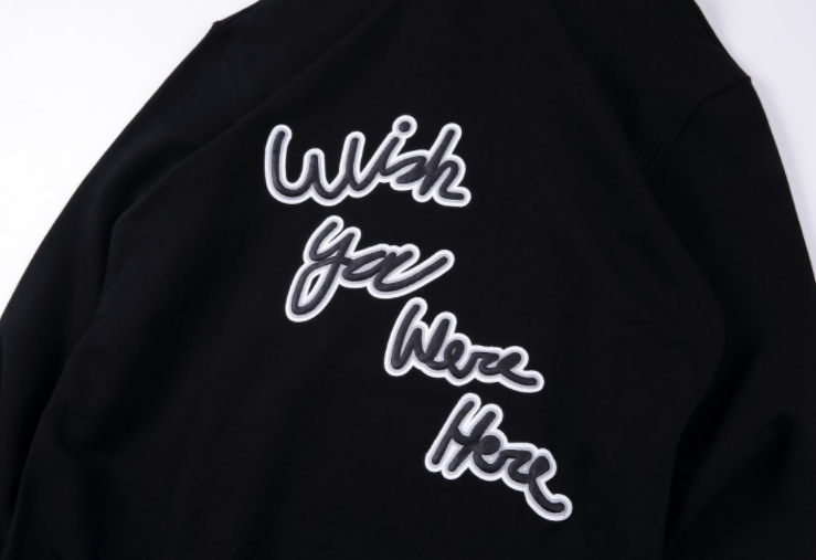 Wish You Were Here Hoodie (LIMITED EDITION) - AstroWorlds Merch【Limited Collection 】