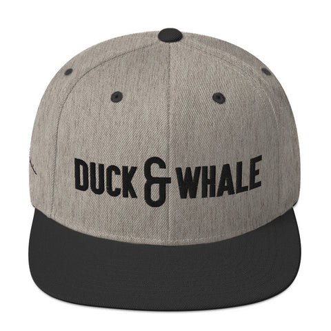 Duck & Whale Duo Snapback Hat