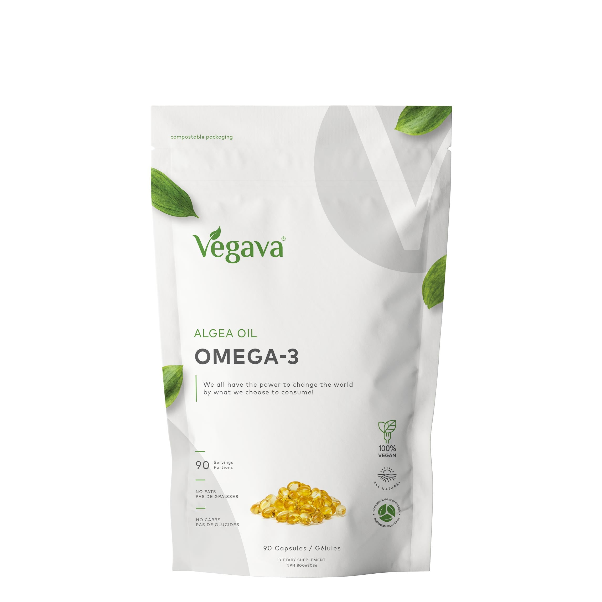 Vegan Omega-3 Algae Oil