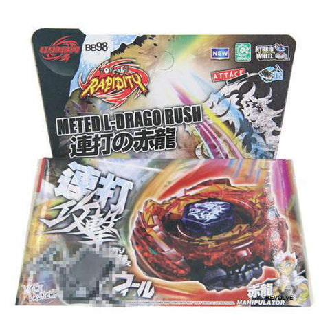 Toupie Beyblade Metal Fusion Meted L-Drago Rush