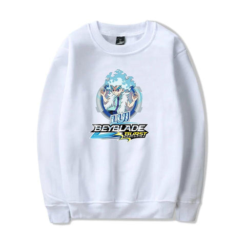 Sweat Beyblade Burst Evolution Lui Shirosagi blanc