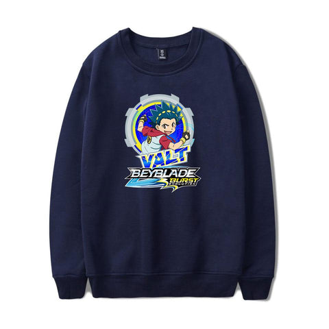 Sweat Beyblade Burst Evolution Valt Aoi bleu