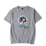 T shirt Beyblade Burst Evolution Valt Aoi Gris