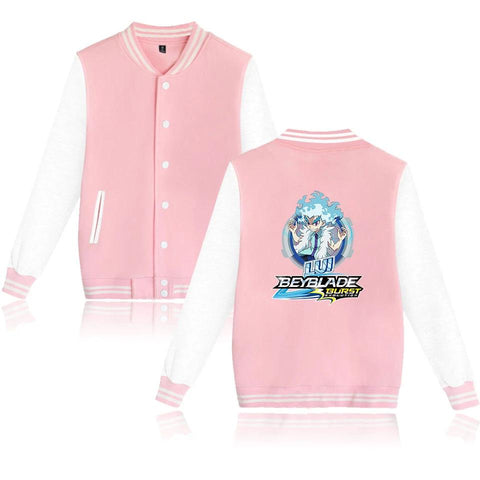 Veste Beyblade Burst Evolution Lui Shirosagi rose