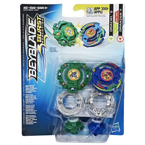 Toupie Beyblade Burst Dranzer Flame Yell Zeta Draciel Shield Central Press