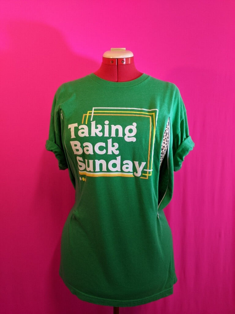 Taking Back Sunday Breastfeeding Shirt (XL)
