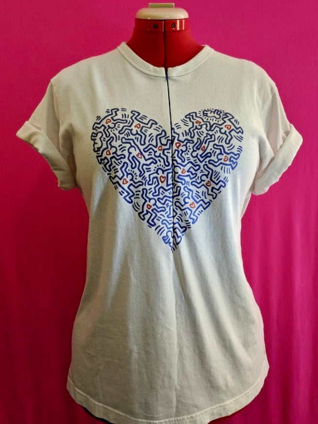 Keith Haring Breastfeeding Shirt (L)