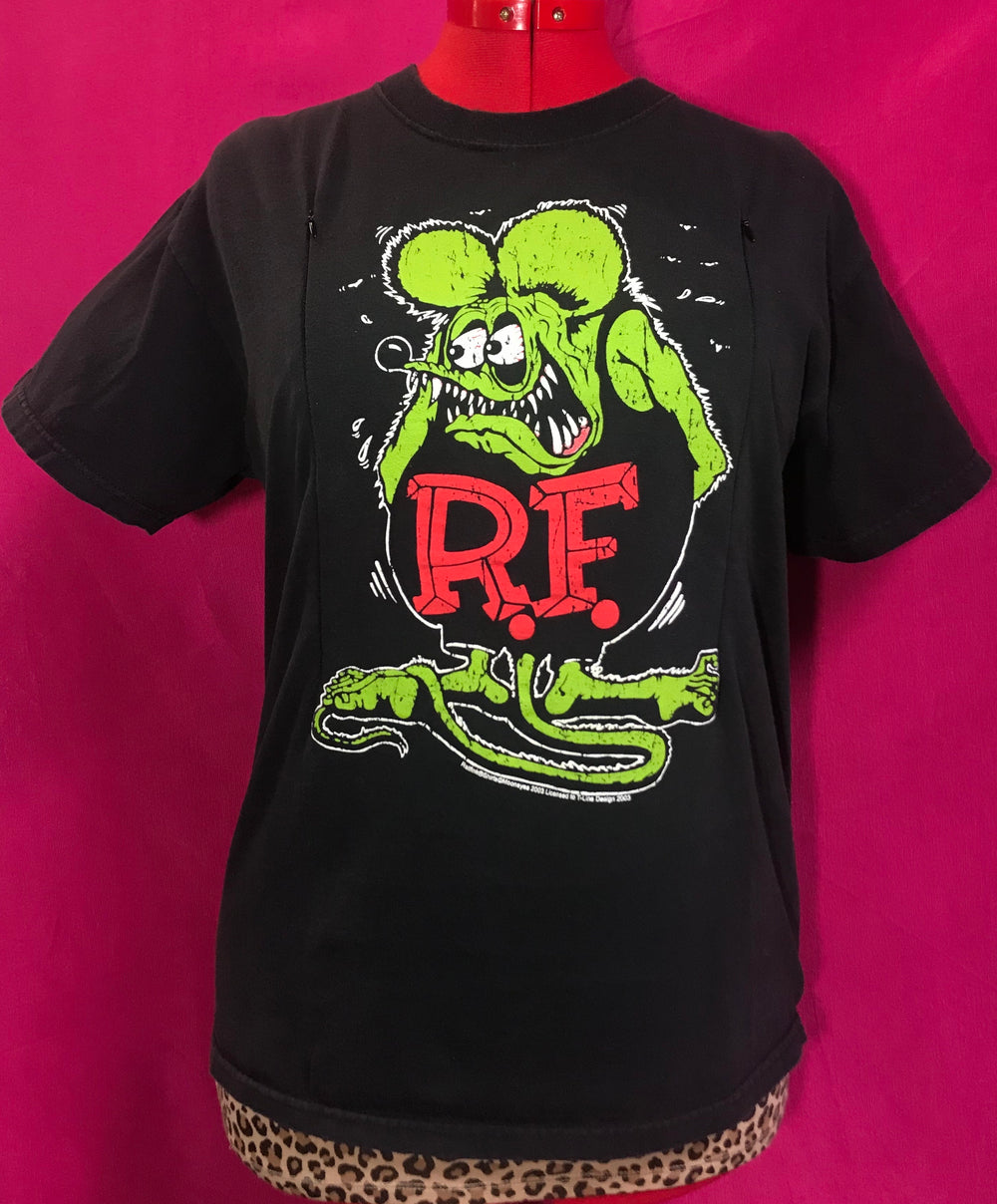 Rat Fink Breastfeeding Shirt (M)