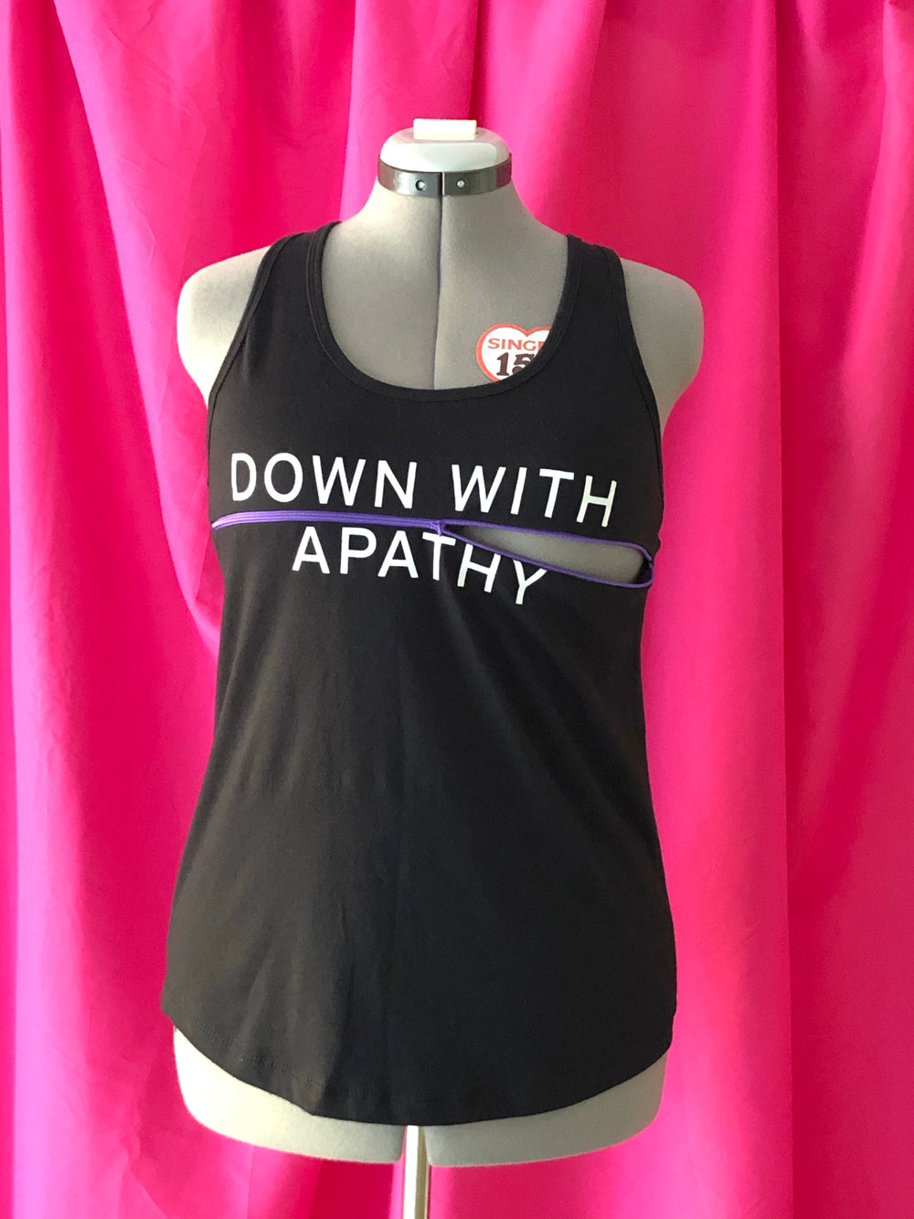 Down With Apathy Bodyfeeding Shirt (L)