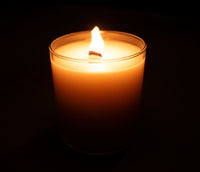 Relax and unwind with the beautiful aroma and gently flickering flame