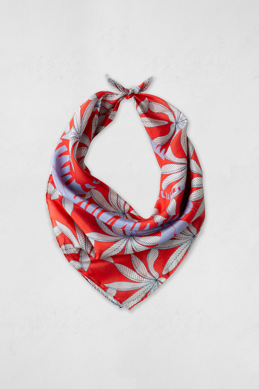 Visvasa - Red Small Scarf