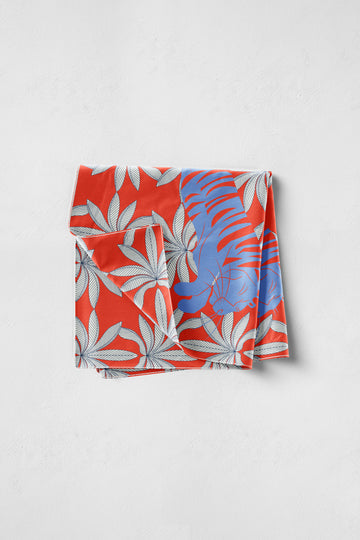 Visvasa - Red Pocket Square