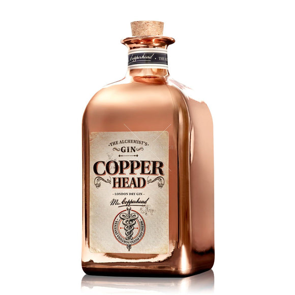 Name: Copperhead Gin: Mr Copperhead Volume: 50 CL ABV: 40% Notes: Gin