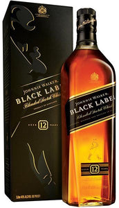 Distillery: Johnnie Walker Name: Black Label Volume: 1L ABV: 40% Notes: Blended Malt Origin: Scotland
