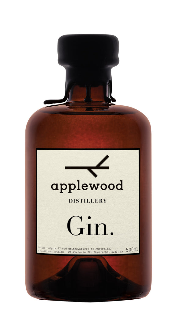 Name: Applewood Volume: 50 CL ABV: 43% Notes: Gin