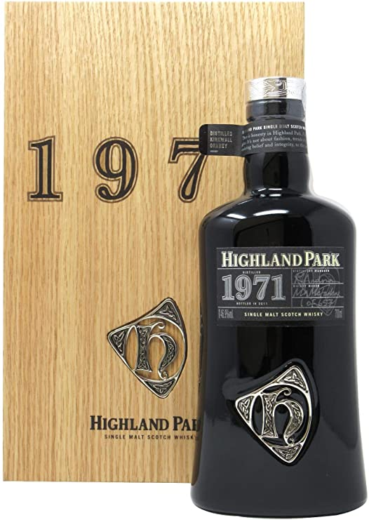 Distillery: Highland Park Name: Orcadian 1971 Volume: 70CL ABV: 46.9% Notes: Items Available At Singapore Only Origin: Kirkwall, Island, Scotland